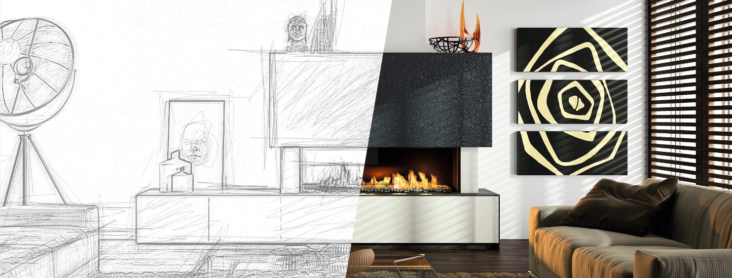 Projet de création d'une cheminée